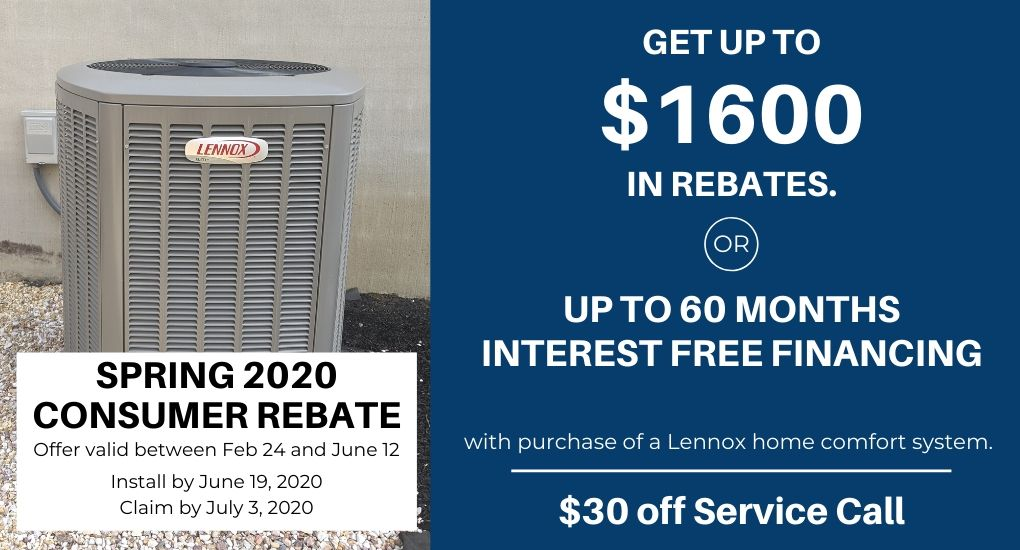 Lennox air conditioner in Maryland